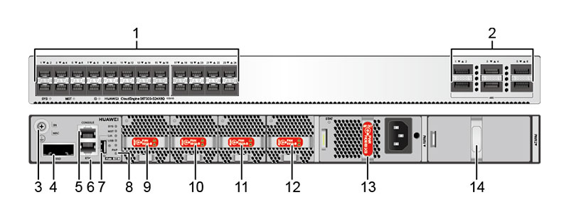 S6730S-S24X6Q-A appearance and structure